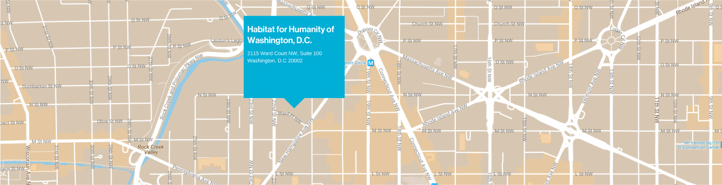 Habitat for Humanity DC Location