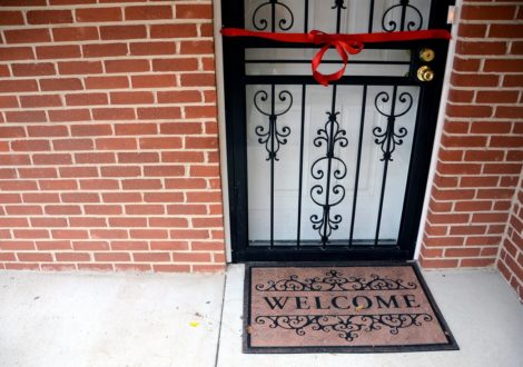 DC Habitat Home Welcome Mat